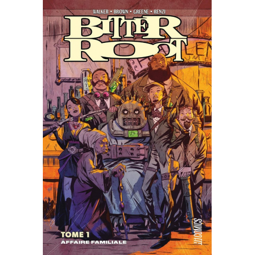 Bitter Root Tome 1 : Affaire familiale (VF)