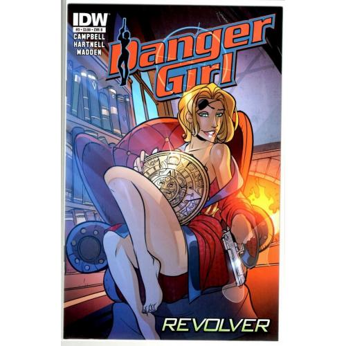 DANGER GIRL REVOLVER 3 (OF 4) CVR B (VO)