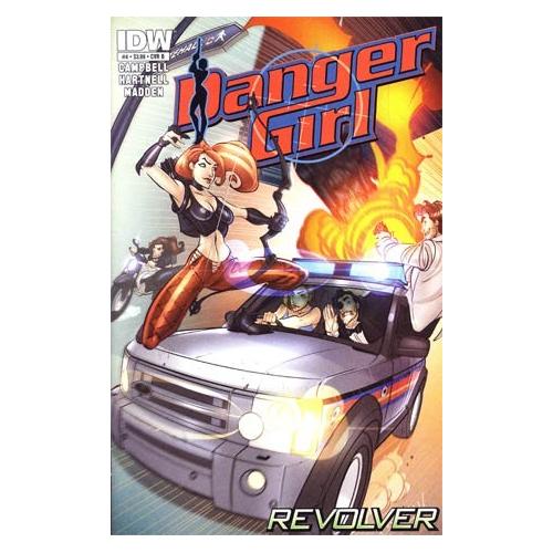 DANGER GIRL REVOLVER 4 (OF 4) CVR B (VO)
