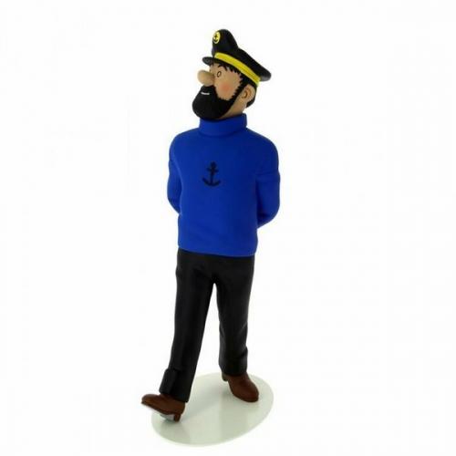 Tintin Capitaine Haddock 25cm le Musée Imaginaire