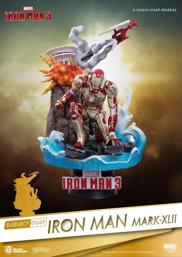 Marvel diorama PVC D-Stage Iron Man Mark XLII