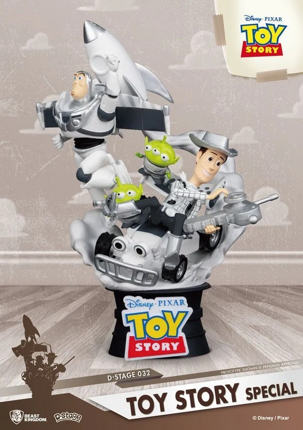 Diorama PVC D-Stage Toy Story