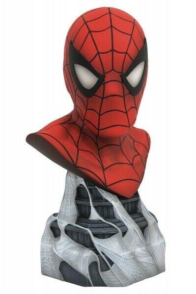 Marvel - comics legends 3d buste spider-man - 25cm