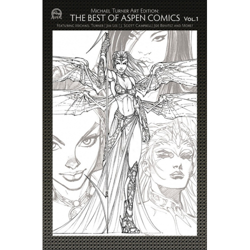TURNER ART ED BEST OF ASPEN COMICS VOL 01 CVR A (VO)