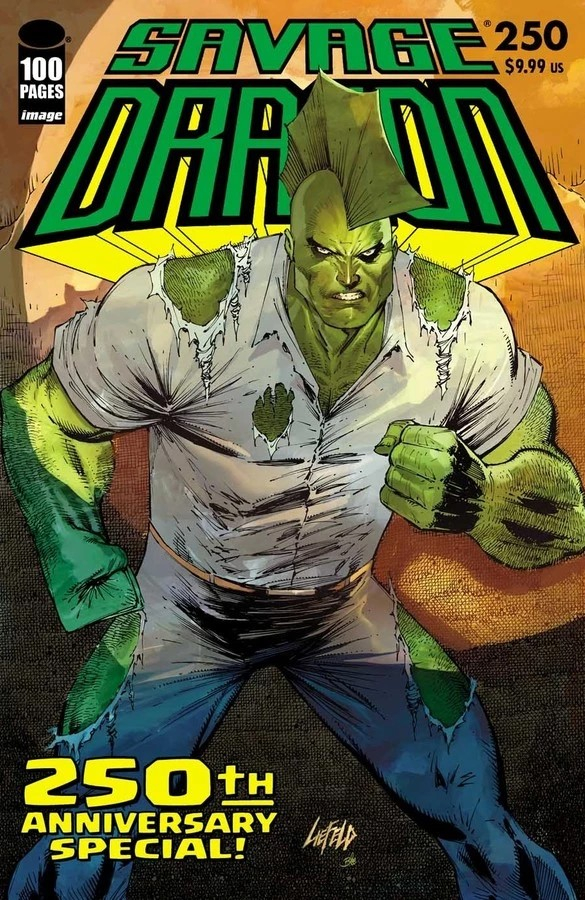 SAVAGE DRAGON 250 (VO) FRANK CHO VARIANT