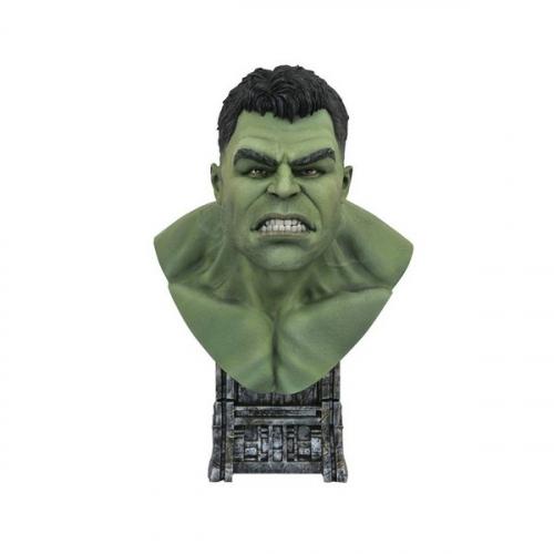 Thor : Ragnarok - Buste Legends in 3D 1/2 Hulk 25 cm