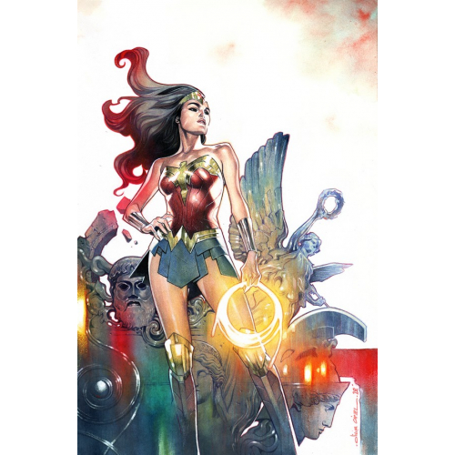 WONDER WOMAN 757 CARD STOCK OLIVIER COIPEL VAR ED (VO)