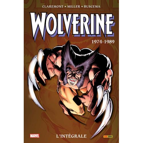 WOLVERINE : L'INTÉGRALE 1974-1989 (NOUVELLE ÉDITION) (VF)