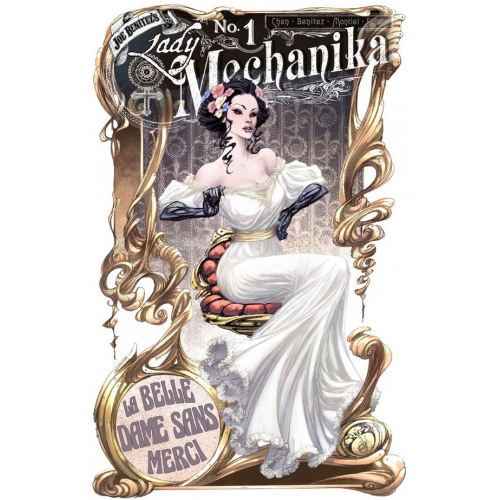 CARTE POSTALE LADY MECHANIKA - SERIE 02 - LM011