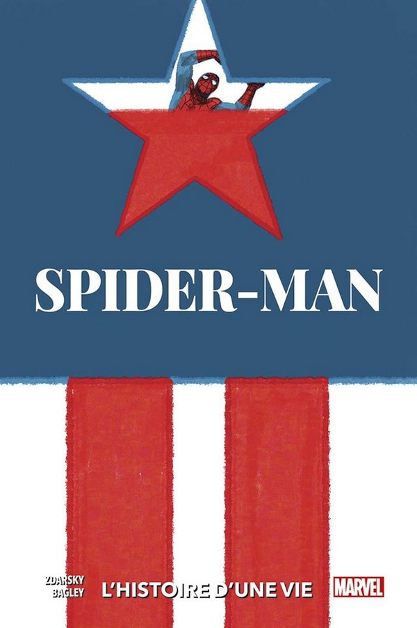 SPIDER-MAN : L'HISTOIRE D'UNE VIE (VF) Couverture Variante 5