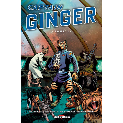 CAPTAIN GINGER TOME 1 (VF)