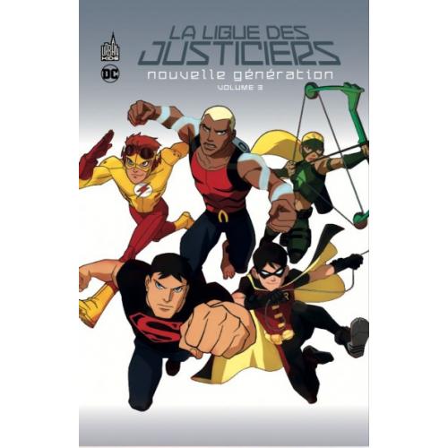 La ligue des justiciers – Nouvelle génération Tome 3 (VF)