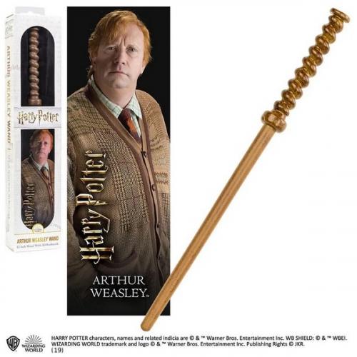 Harry Potter réplique baguette PVC Arthur Weasley 30 cm