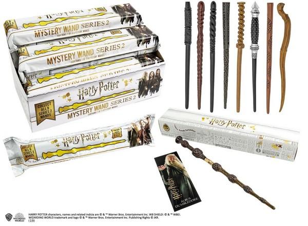 Harry Potter série 2 répliques baguettes 30 cm Mystery Box