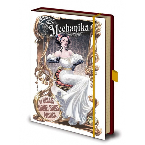 NOTEBOOK - CARNET LADY MECHANIKA 002