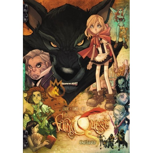 Carte Postale Fairy Quest Serie 1 001