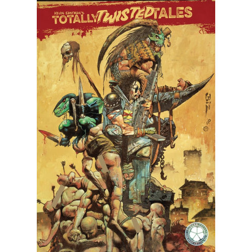 KEVIN EASTMAN TOTALLY TWISTED TALES TP VOL 01 CVR B BISLEY (VO)