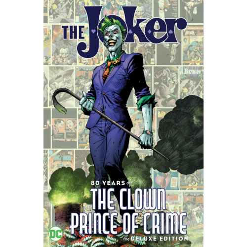 THE JOKER : 80 YEARS OF THE CLOWN PRINCE OF CRIME HC (VO)