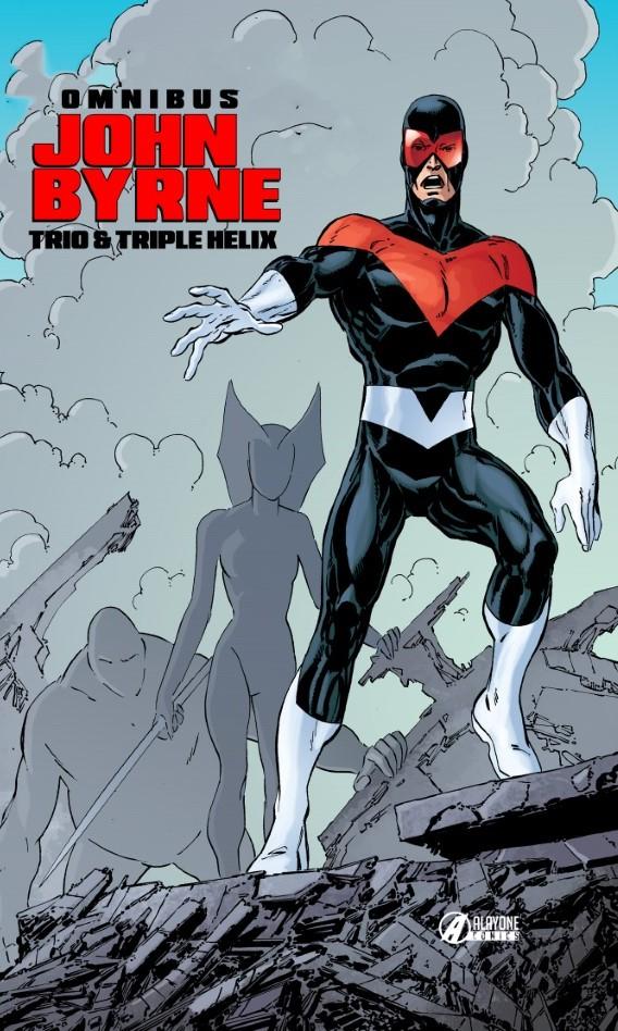 TRIO TRIPLE HELIX - JOHN BYRNE OMNIBUS (VF) - COVER B - 250 Exemplaires