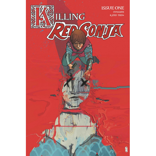 KILLING RED SONJA 1 30 COPY WARD CRIMSON INCV (VO)