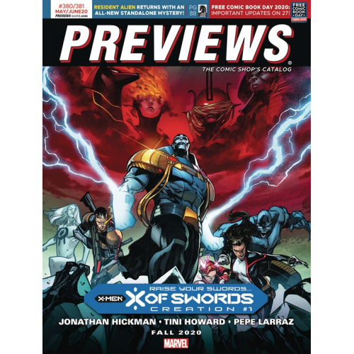 PREVIEWS 380-381 MAY JUNE 2020 (VO)