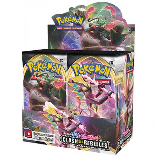 Pokemon épée et bouclier Clash des Rebelles - Booster