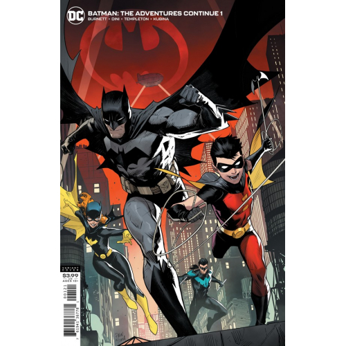 OFFERT : BATMAN THE ADVENTURES CONTINUE 1 (OF 6) DAN MORA VAR ED (VO)