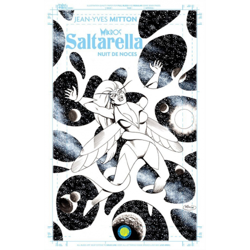 SALTARELLA BLUELINE EDITION (VF) COUVERTURE VARIANTE ORIGINAL COMICS