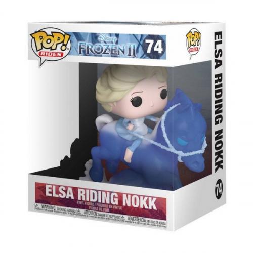Funko Pop Frozen II Elsa Riding Nokk 74