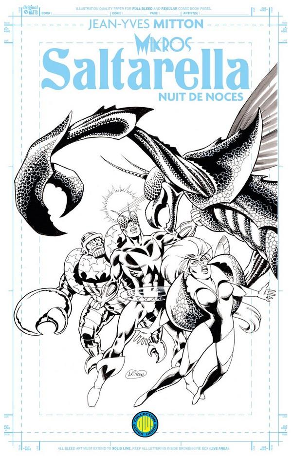 SALTARELLA BLUELINE EDITION (VF) COUVERTURE VARIANTE ORIGINAL COMICS