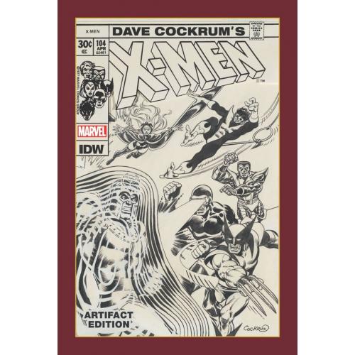 DAVE COCKRUM X-MEN ARTIFACT ED HC (VO)