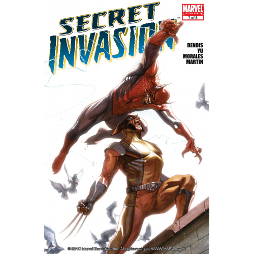 Secret Invasion 7 fascicule occasion (vf) occasion