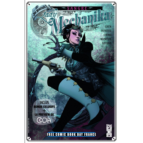 FCBD France 2020 – GLENAT COMICS – Lady Mechanika: Sangre (VF)