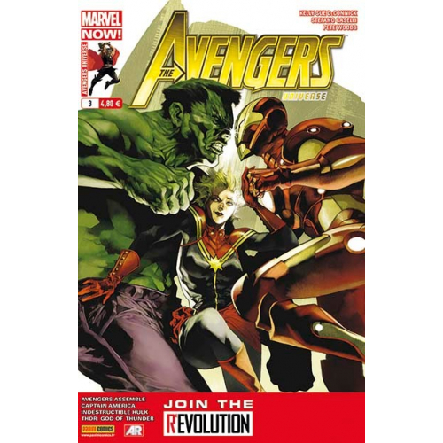 Avengers Universe 3 (Vf) Occasion