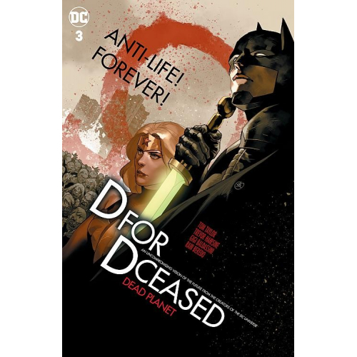 DCEASED: DEAD PLANET 3 Card Stock Movie Homage Variant Cover By Yasmine Putri (VO)