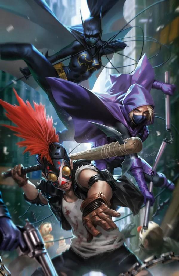Batman: The Joker War Zone 1 Card Stock Variant Cover By Derrick Chew (VO)
