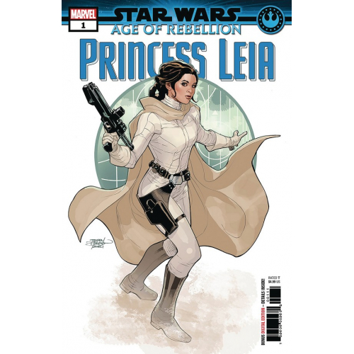 DF STAR WARS AGE REBELLION PRINCESS LEIA 1 Signé par Terry Dodson (VO)