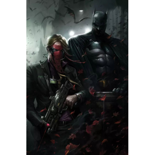 BATMAN 101 (VO) CARDSCTOCK FRANCESCO MATTINA VARIANT