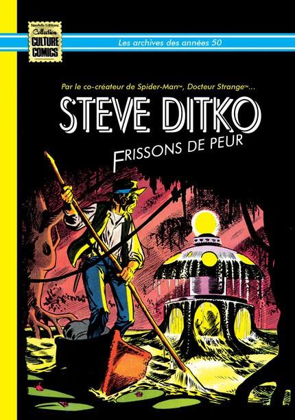 """STEVE DITKO """"frissons de peur"""" Les archives des années 50 (1958-1959) (VF)"""