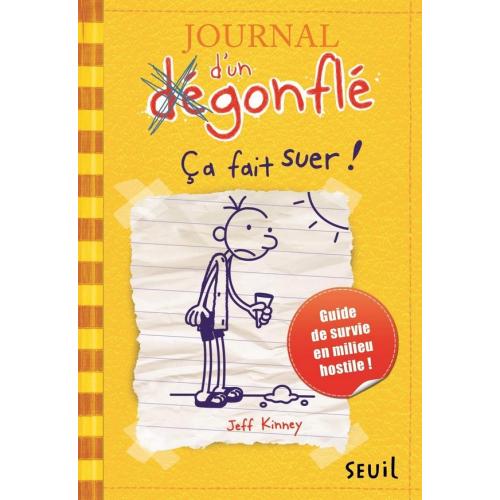 Journal d'un dégonflé - Tome 4 Ça fait suer ! (VF)