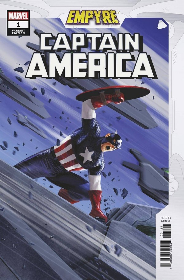 EMPYRE CAPTAIN AMERICA 1 (OF 3) EPTING VAR (VO)