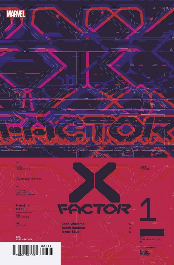 X-FACTOR 1 MULLER DESIGN VAR (VO)