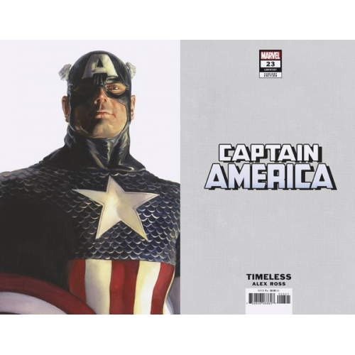 CAPTAIN AMERICA 23 ALEX ROSS CAPTAIN AMERICA TIMELESS VAR (VO)