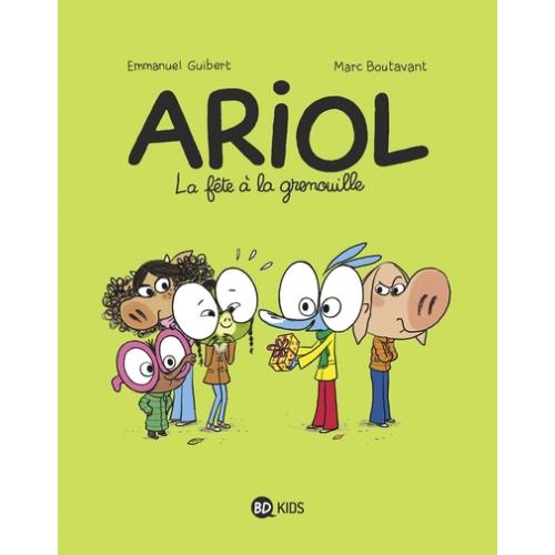 Ariol Tome 11 - La fête à la grenouille (Vf)