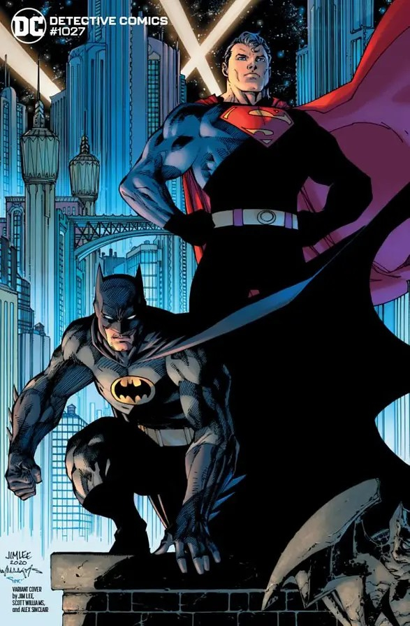 Detective Comics 1027 Batman And Robin Variant Cover By Jim Lee And Scott Williams (VO)