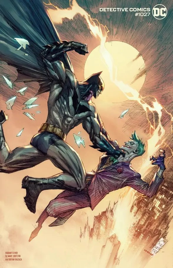 Detective Comics 1027 Batman And The Joker Variant Cover By Marc Silvestri (VO)