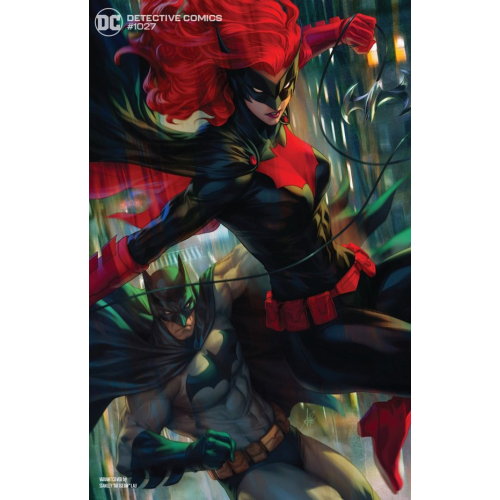 "Detective Comics 1027 Batman And Batwoman Variant Cover By Stanley ""Artgerm"" Lau (VO)"