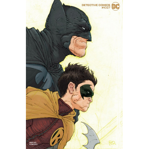 Detective Comics 1027 Batman And Superman Variant Cover (VO) FRANK QUITELY VARIANT