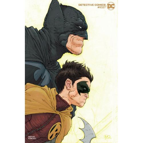 Detective Comics 1027 Batman And Superman Variant Cover (VO) FRANK QUITELY VARIANT
