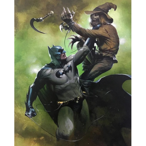 Detective Comics 1027 Batman And Scarecrow Variant Cover By Gabriele Dell'otto (VO) (VO)